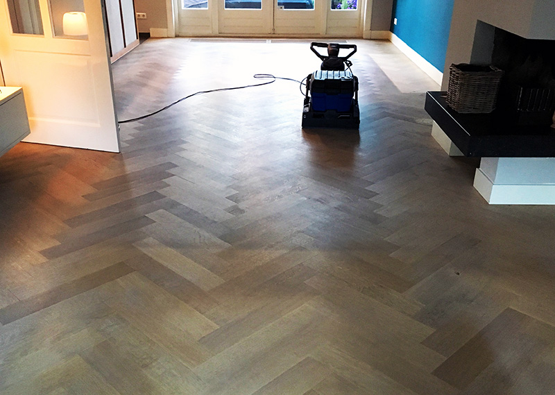 Houten vloer renovatie timber wooden floors amsterdam