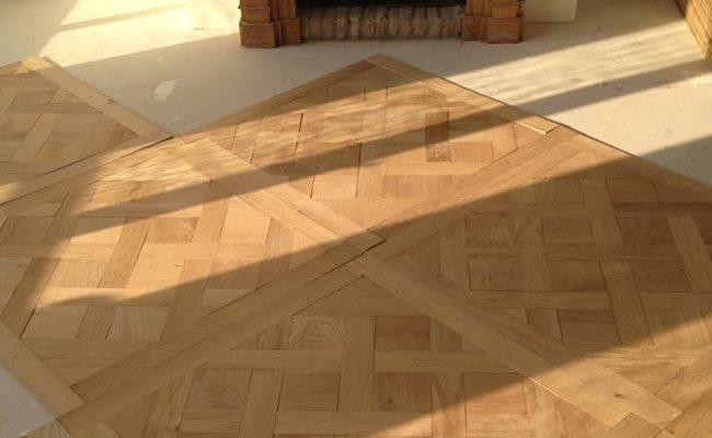 Houten Vloeren Cuijk : Frans eiken houten patroonvloer timber wooden floors amsterdam