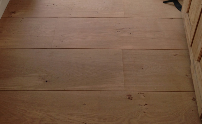 Massief frans eiken houten vloer brede planken herengracht amsterdam