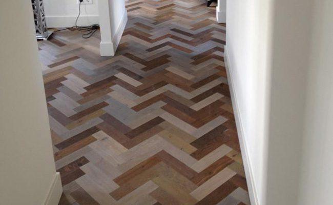 Visgraat Vloer Hout : Zevenkleuren eiken hout visgraat vloer amsterdam 1 timber wooden