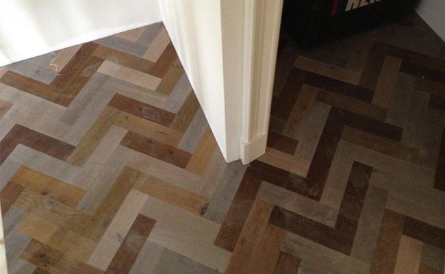Houten Vloer Visgraat : Zevenkleuren eiken hout visgraat vloer amsterdam timber wooden