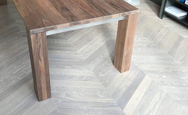 Hongaarse punt eiken houten vloer amsterdam zuid op